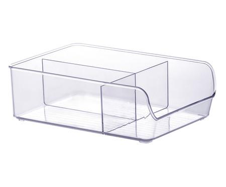 Caixa Organizadora com Divisórias Amos - Transparente | WestwingNow