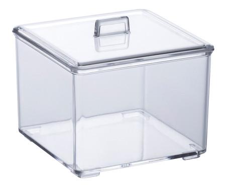Porta-Algodão Ulty - Transparente | WestwingNow