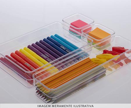Caixa Organizadora Achosta - Transparente | WestwingNow