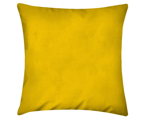 Capa de Almofada em Linho Misto Lauren - Amarelo Sol, Amarelo | WestwingNow