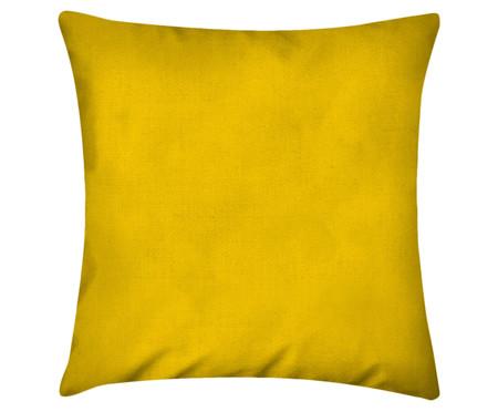 Capa de Almofada em Linho Misto Lauren - Amarelo Sol | WestwingNow
