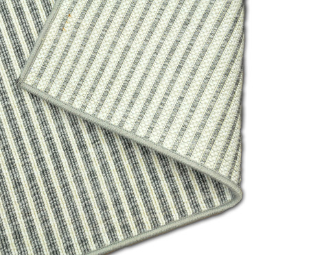 Tapete Belga Edition Debrum Stripes - Prata   WestwingNow