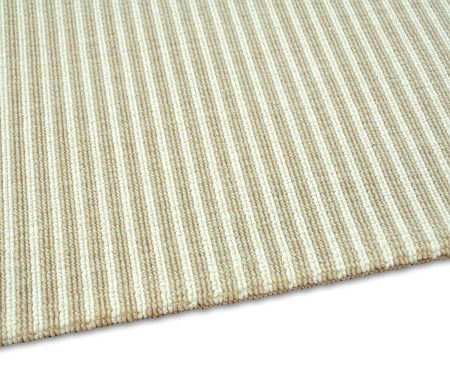 Passadeira Belga Edition Debrum Stripes - Bege   WestwingNow