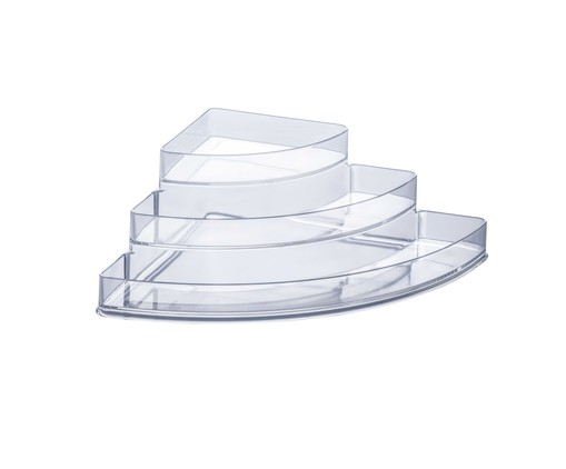 Organizador Lateral Moly - Transparente, Transparente | WestwingNow