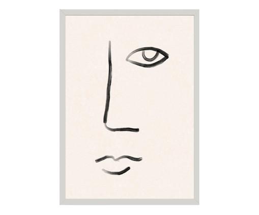 Quadro Toffie Face II - Toffie Affichiste, Colorido | WestwingNow
