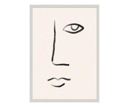 Quadro Toffie Face II - Toffie Affichiste | WestwingNow
