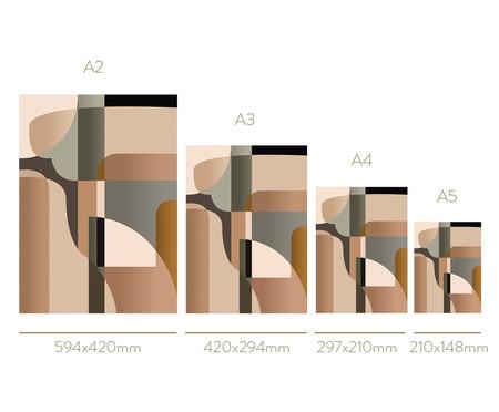 Composição 2 Quadros Formes Et Couleurs | WestwingNow