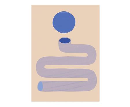 Composição 3 Quadros Couleurs de Bleu | WestwingNow