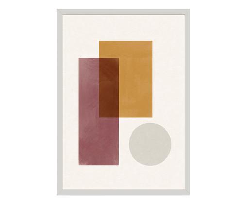 Quadro Toffie Geometric II - Toffie Affichiste, Colorido   WestwingNow