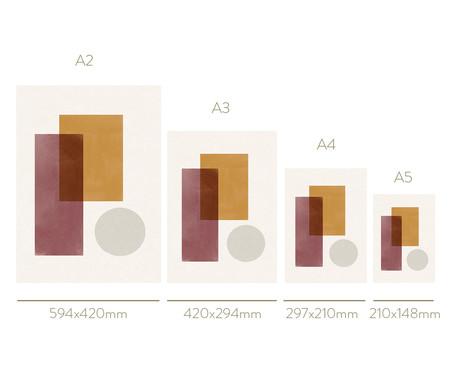 Quadro Toffie Geometric II - Toffie Affichiste | WestwingNow