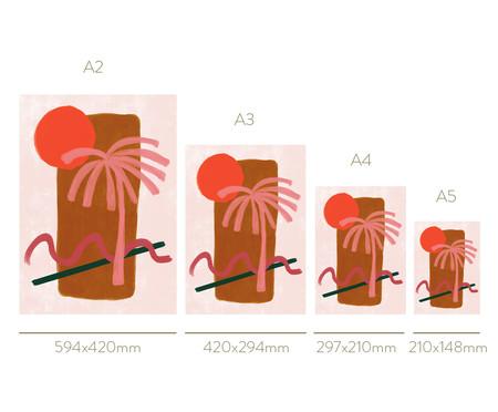 Quadro Toffie Tropical - Toffie Affichiste   WestwingNow