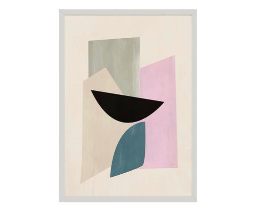 Quadro Toffie Geometric V - Toffie Affichiste, Colorido | WestwingNow
