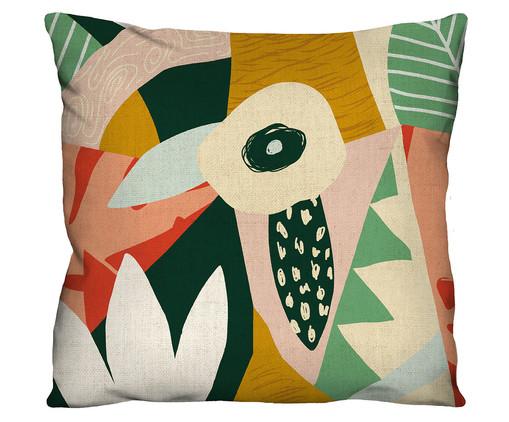 Capa de Almofada em Algodão Erla, Colorido | WestwingNow