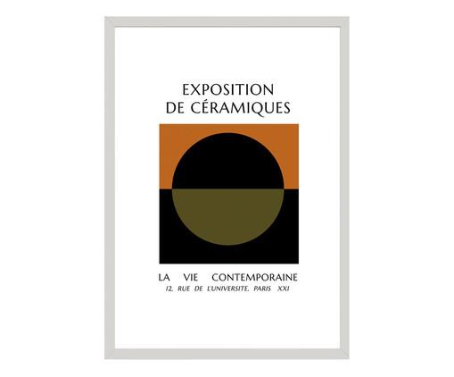 Quadro Exposition de Ceramiques Iii - Krone Kern, Colorido | WestwingNow