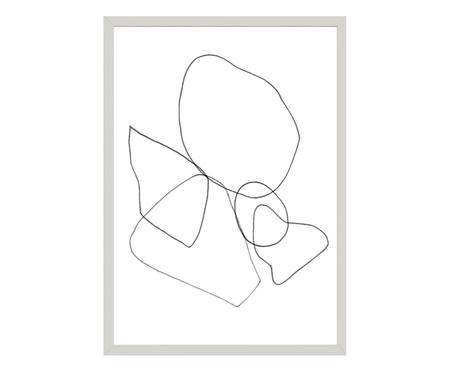 Quadro Toffie Lines - Toffie Affichiste | WestwingNow