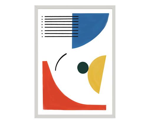 Quadro 1991 - Atelier Flamingo, Colorido   WestwingNow