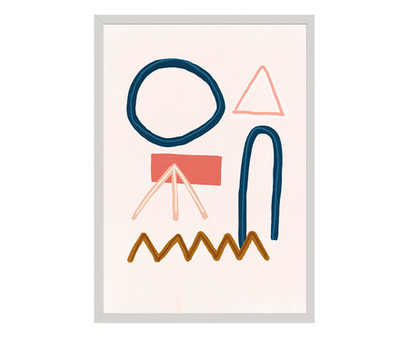 Quadro Toffie Abstract VII - Toffie Affichiste | WestwingNow