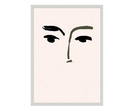 Quadro Toffie Face I - Toffie Affichiste, Colorido   WestwingNow