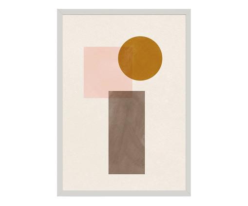 Quadro Toffie Geometric I - Toffie Affichiste, Colorido | WestwingNow