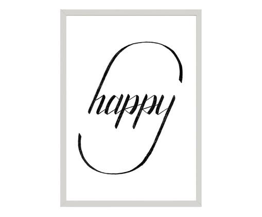 Quadro Happy - Qual É Seu Tipo?, Colorido | WestwingNow