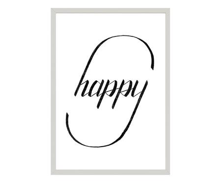 Quadro Happy - Qual É Seu Tipo? | WestwingNow