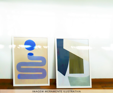 Quadro Corpi Plastici V - Romina Gadler   WestwingNow