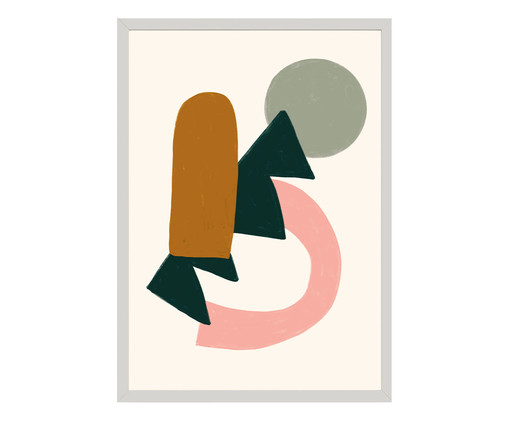 Quadro Toffie Abstract II - Toffie Affichiste, Colorido | WestwingNow