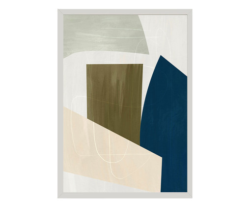 Quadro Toffie Geometric III - Toffie Affichiste, Colorido   WestwingNow