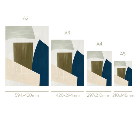 Quadro Toffie Geometric III - Toffie Affichiste | WestwingNow