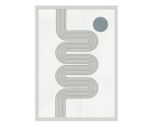 Quadro Toffie Geometric IV - Toffie Affichiste, Colorido   WestwingNow