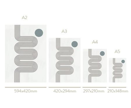 Quadro Toffie Geometric IV - Toffie Affichiste | WestwingNow
