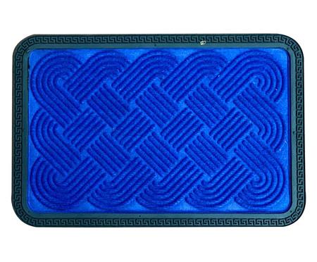 Capacho Indiano Relevo - Azul | WestwingNow