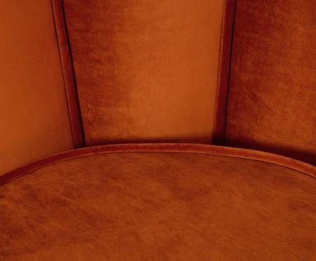 Poltrona em Veludo Pétala - Acobreada | WestwingNow