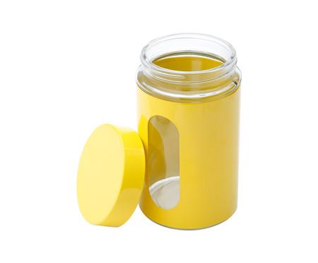 Pote para Mantimentos em Inox Aurora - Amarelo | WestwingNow