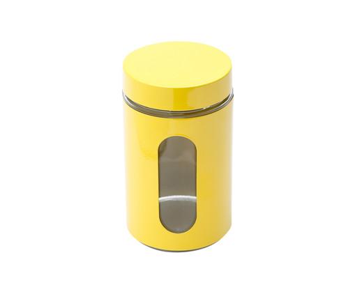 Pote para Mantimentos em Inox Aurora - Amarelo, Amarelo   WestwingNow
