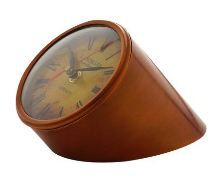 Relógio de Mesa Isabella - Marrom | WestwingNow