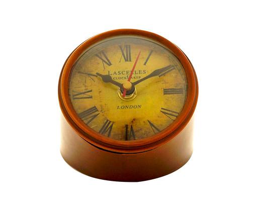 Relógio de Mesa Isabella - Marrom, Marrom   WestwingNow