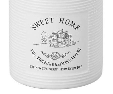 Pote Organizador em Porcelana Sweet Home - 720ml   WestwingNow
