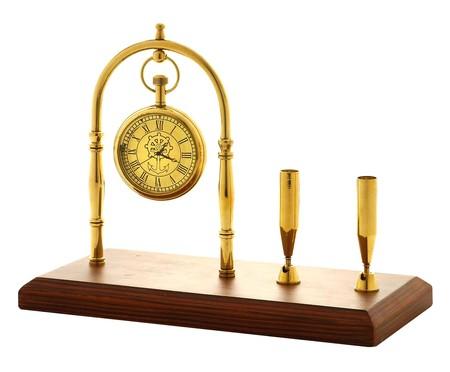 Relógio de Mesa Ava - Dourado | WestwingNow