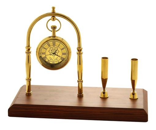 Relógio de Mesa Ava - Dourado, Dourado   WestwingNow