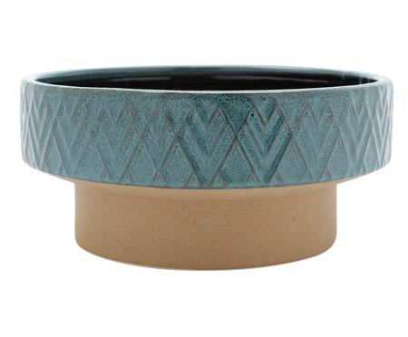 Vaso em Cerâmica Maya - Azul | WestwingNow