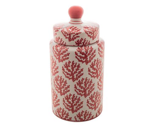Pote em Porcelana Lopez l, Vermelho,Branco | WestwingNow