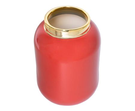 Vaso em Porcelana Brown - Coral | WestwingNow