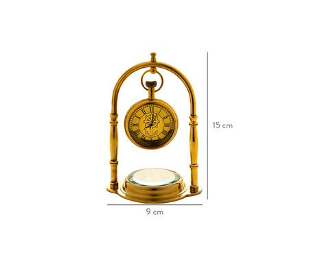 Relógio Decorativo com Bússola Mia   WestwingNow