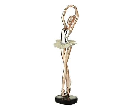 Escultura Bailarina lll - Rosé | WestwingNow