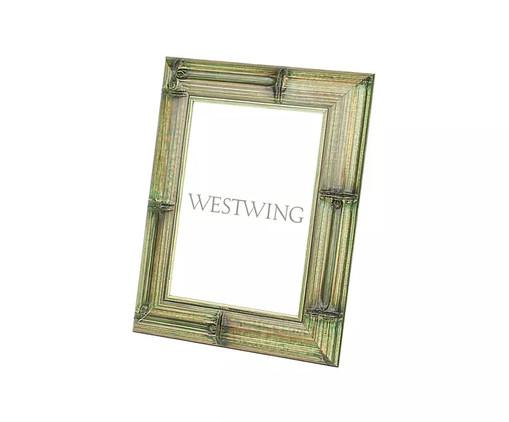 Porta-Retrato em Bambu Davi - Verde, Verde | WestwingNow