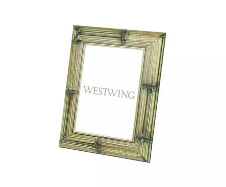 Porta-Retrato em Bambu Davi - Verde | WestwingNow
