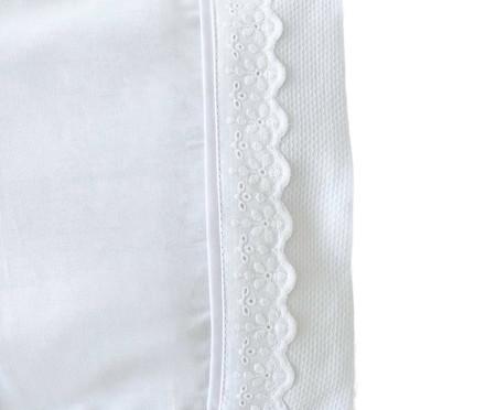 Jogo de Lençol Algodão Doce Branco - 180 Fios   WestwingNow