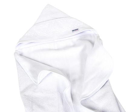 Toalha Felpuda Cordão - Branco   WestwingNow