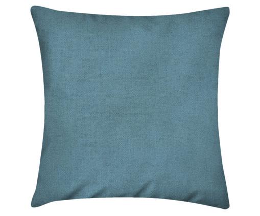 Capa de Almofada em Linho Misto Lauren - Azul, Azul | WestwingNow